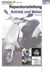 Reparaturanleitung RIS  Piaggio Zip 100 4-Takt Antrieb und Motor